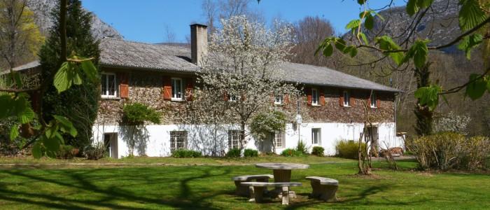 Forges d'enfalits - chambres d'hôtes en Ariège - parc - gros bandeau n°3
